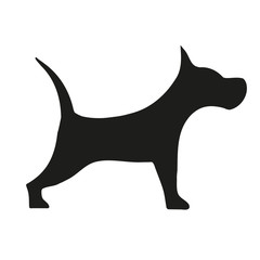 Dog icon. Vector illustration