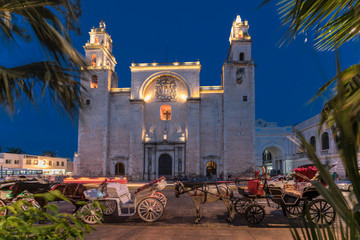 Mexico, Merida, Nacht