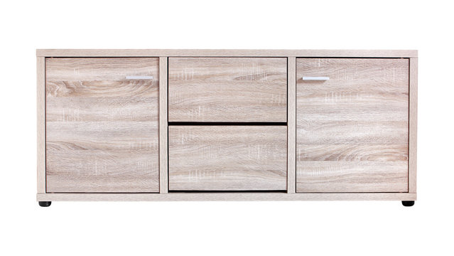 cabinet isolated on white
