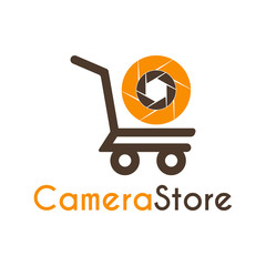Camera Store Logo icon symbols design template