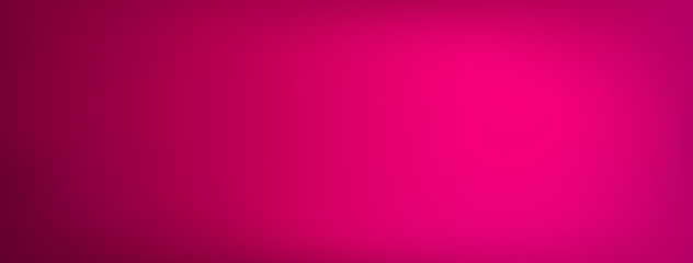 Gradient pink abstract banner background