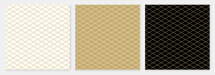 Background pattern seamless diamond abstract gold luxury color geometric vector.