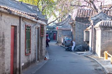Fotobehang Beijing 中国 庭園 故宮