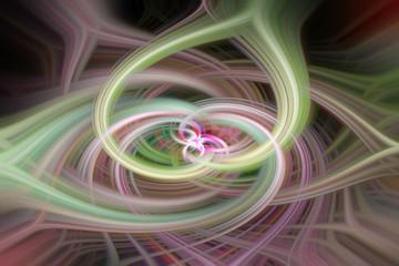 Farbiger Twirl Hintergrund Desktop Textur 15 geschwungen hellgrün beige rosa