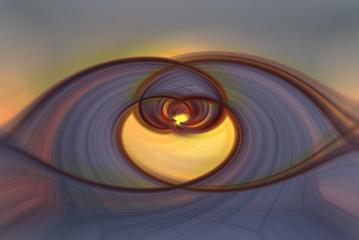 Farbiger Twirl Hintergrund Desktop Textur Herz geschwungen