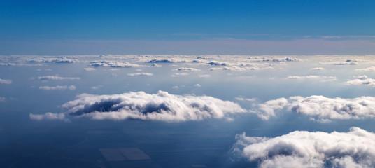 Fototapeta The sky above the clouds obraz