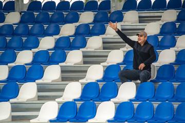 stadium and supporter