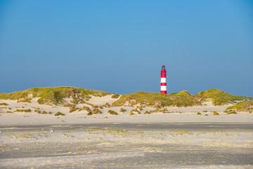 Insel Amrum am sonnigen Hersttag