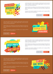 Special Promotion Discount Vector Illustration