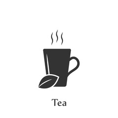 A cup of tea icon. Element of drink icon for mobile concept and web apps. Detailed A cup of tea icon can be used for web and mobile