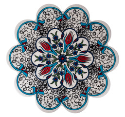 Antique Ottoman Turkish ceramic design, Kitchen cookware mat