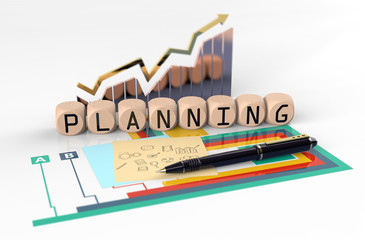 Report Financial Planning Vision Concept