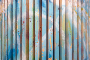 Painted planks background