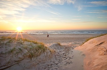 Strandübergang zur Nordsee, Dänemark