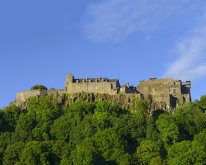 Stirling Castle, located in Stirling, is one of the largest and most important castles in Scotland, UK