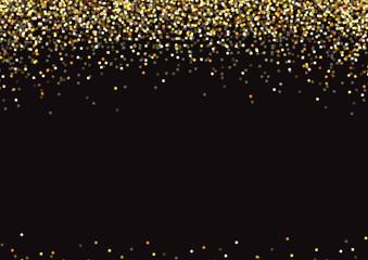 Golden background celebration