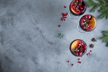 Red Cranberry Sangria
