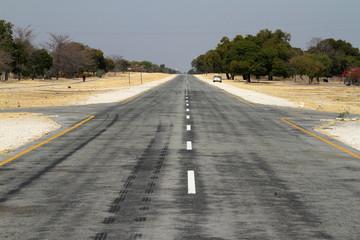 Straßen von Namibia und dem südlichen Afrika