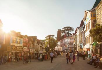 Street in Shimla, India