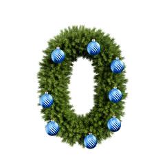 Christmas tree number 0