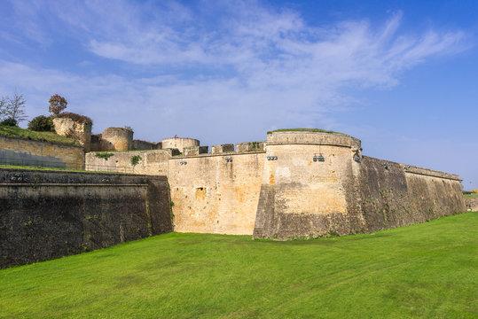Blaye Citadel, world heritage site in Gironde, France