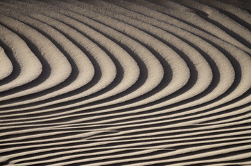 Background texture of sand dunes