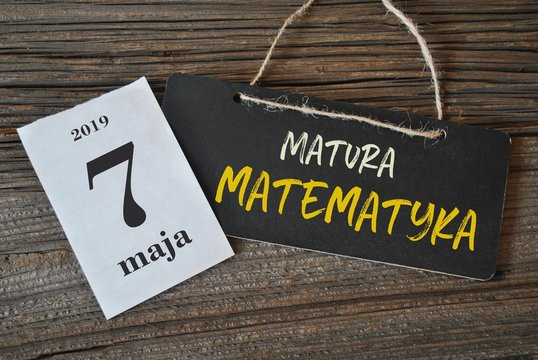 7 maja - matura matematyka