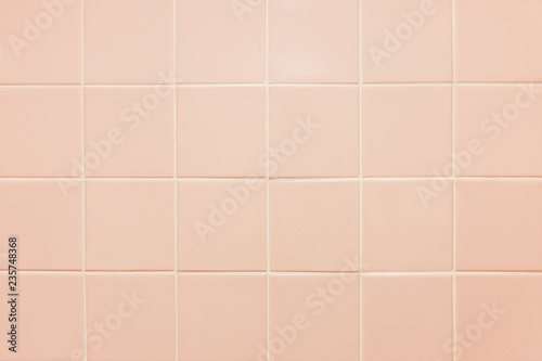 Texture Of Pink Tile Light Background