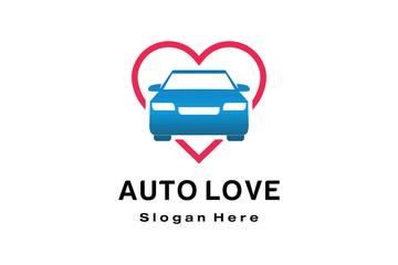AUTO LOVE LOGO DESIGN