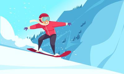 Winter Sports Background