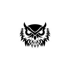 Owl logo - inspiration vector illustration. Emblem design on white background