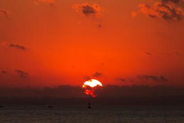 Marmara Sea Sunset
