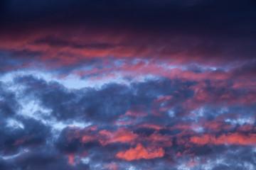 Allassac (Corrèze - France) - Ciel nuageux