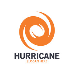 Hurricane logo symbol icon illustration vector company