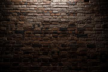 レンガの壁 Vintage red brick wall