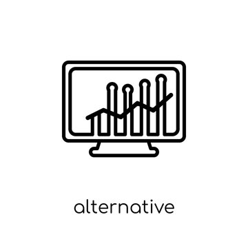 Alternative investment market icon from Alternative investment m