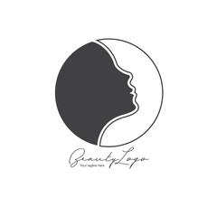 vector image beauty logo
