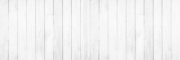Wall Murals Wood Old white wood texture background.