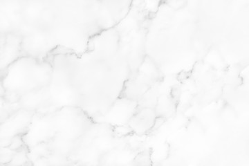 White marble texture with natural pattern for background. Wall mural