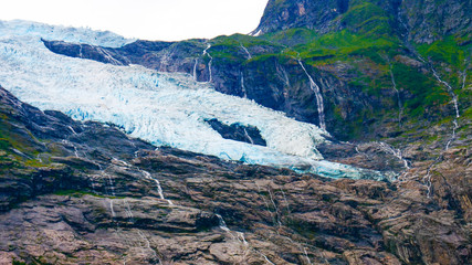 Boyabreen Glacier in Norway