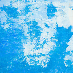 grunge blue wall, highly detailed textured background