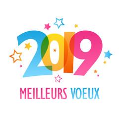 """BANNIERE """"MEILLEURS VOEUX 2019"""""""