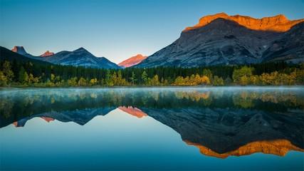 Beautiful Lake With Mountains