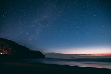 Stars Art Sunset