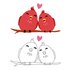 bird artwork vector design