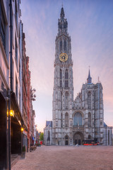 Wall Mural - Cathedral of Our Lady, Antwerp, Belgium
