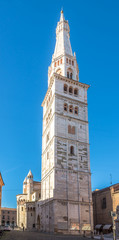 View at Ghirlandina tower in Modena - Italy