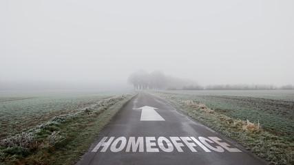 Schild 402 - Homeoffice