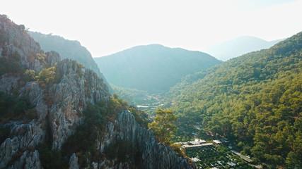 turkey mountain view