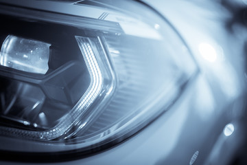 LED automobile headlights